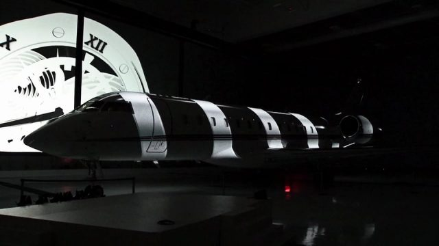 Bombardier – Inauguration du Netjet