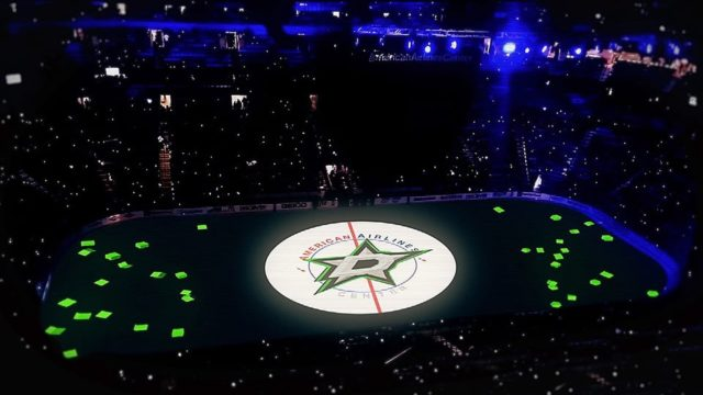 Stars de Dallas – Spectacle d'avant-match – Séries éliminatoires 2016