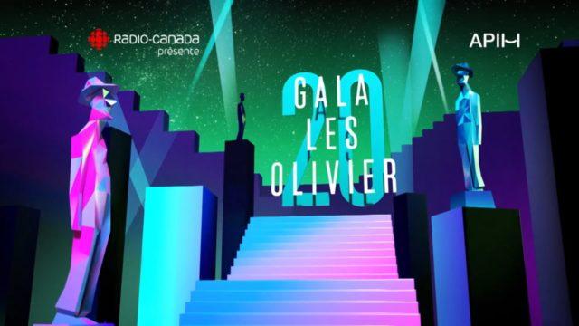 Gala les Olivier 2018