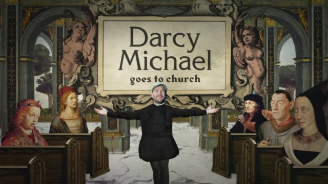 Darcy Michael Goes to Church